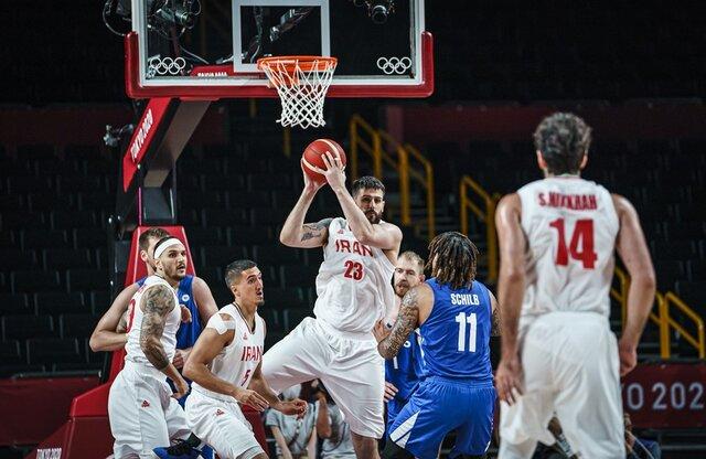 بسکتبال المپیک توکیو/ نیمه اول: ایران ۳۰ – ۴۶ چک