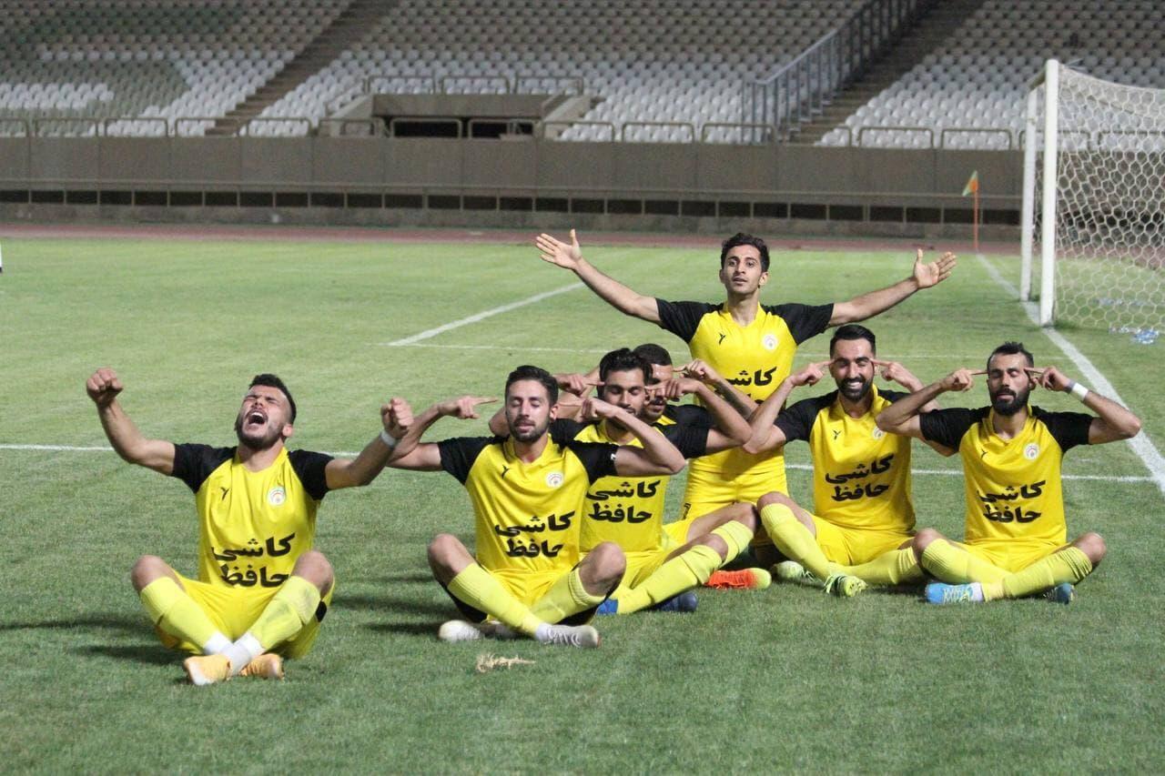 بازیکنان فجر شهید سپاسی