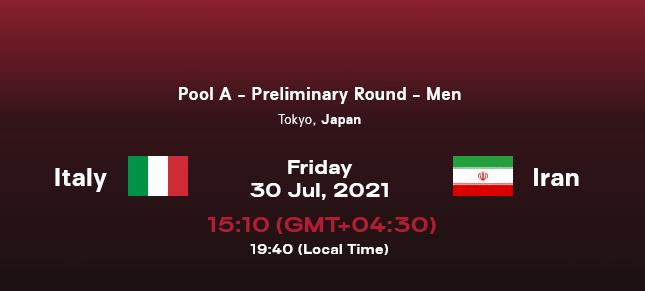 نتیجه والیبال ایران ایتالیا