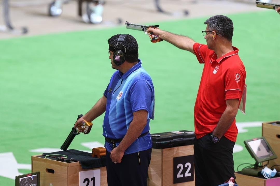 اولین طلای ایران در المپیک توکیو با مدال طلای غیرمنتظره فروغی در تیراندازی
