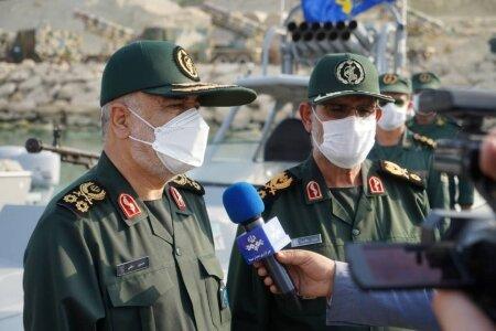 فرمانده کل سپاه : صهیونیست ها متوجه پیامدهای خطرناک حرفهایی که میزنند، باشند