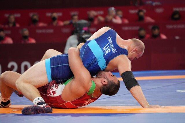 پیروزی قاطع زارع مقابل نفر سوم جهان/ شکست حسینخانی مقابل آمریکا