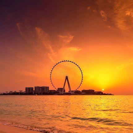 افتتاح بلندترین چرخ و فلک جهان در دبی