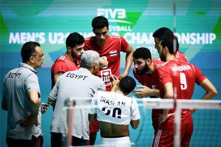 تیم ملی والیبال جوانان مصر را شکست داد / امیدواری برای کسب نهم