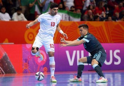 جام جهانی فوتسال: ایران به آرژانتین باخت تا حریف ازبکستان شود