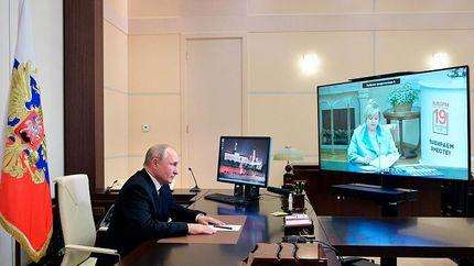 حزب پوتین پیروز انتخابات روسیه