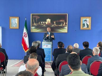 دیدار وزیر امور خارجه کشورمان با جمعی از ایرانیان فرهیخته مقیم آلمان