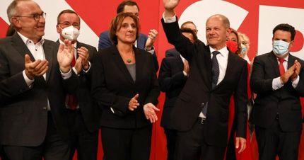 شکست حزب مرکل در نتایج اولیه انتخابات آلمان