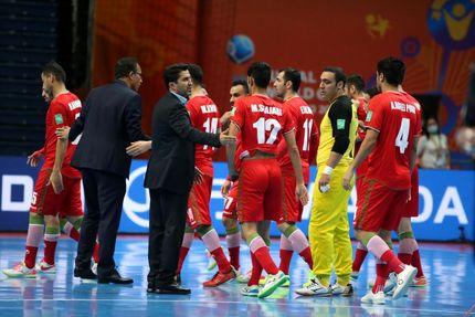 صعود ایران به جمع هشت تیم برتر جام جهانی فوتسال با بردی پرگل