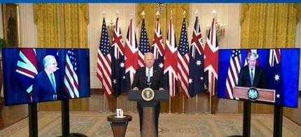 مشارکت سه جانبه امنیتی-نظامی آمریکا، انگلیس و استرالیا