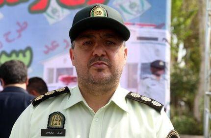 واکسیناسیون بیش از ۹۰ درصد سربازان پلیس پبشگیری تهران در برابر کرونا