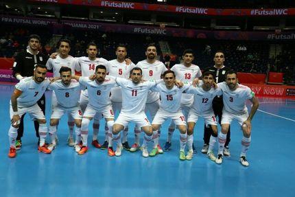 پیروزی تیم ملی فوتسال ایران در اولین بازی جامجهانی