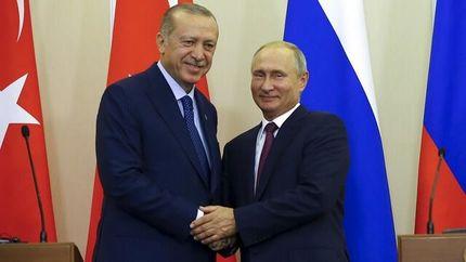 کرملین: اردوغان با پرونده سوریه به روسیه سفر میکند