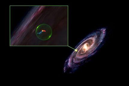 کشف حفرهای عظیم در کهکشان راه شیری!