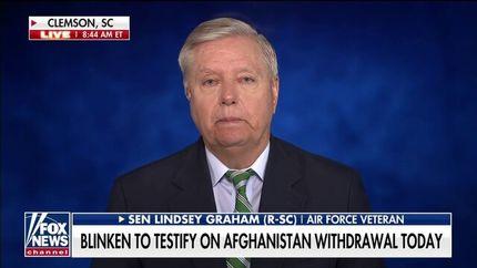 """گراهام: طالبان """"سازمان تروریستی خارجی"""" اعلام شود"""