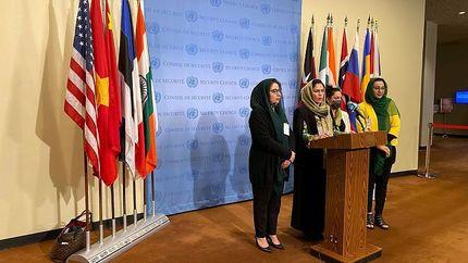 اعتراض زنان افغانستانی به طالبان به سازمان ملل کشیده شد
