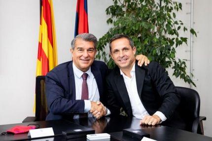 سرمربی موقت بارسلونا انتخاب شد