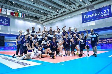فولاد سیرجان قهرمان باشگاههای والیبال آسیا شد