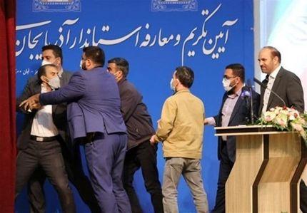 محکومیت هتک حرمت در مراسم معارفه استاندار آذربایجان شرقی